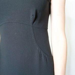 Donna Karan Dresses - DONNA KARAN SIGNATURE Wool Shift Midi Dress 4 0409